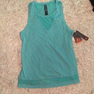 Turquoise Blue Workout Tank